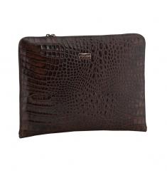 Portafolio piel coco marrón