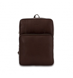 Mochila business marron